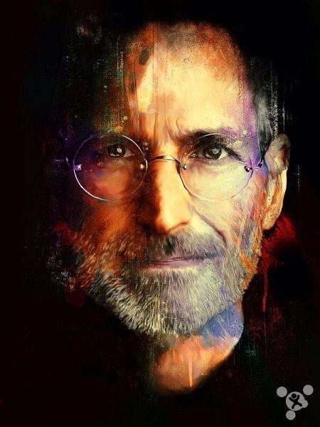 """Steve Jobs Apple 24/""""x36/"""" Canvas Art Print"""