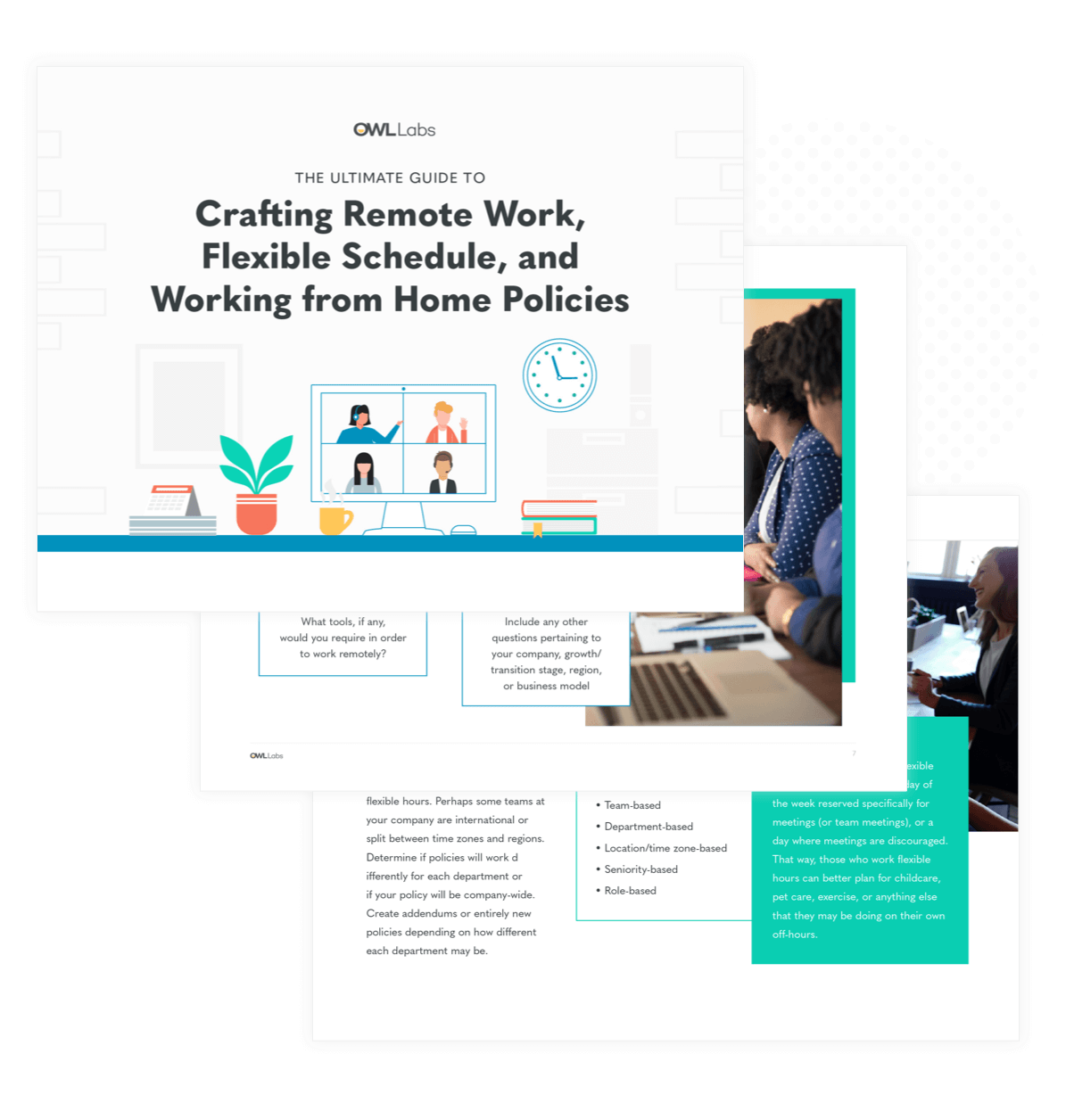 The Ultimate Guide To Crafting Remote Work Flexible Schedule And Working From Home Policies Templates Remote Work Policy Template Working From Home