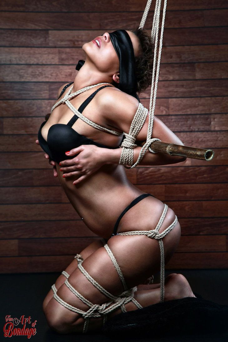 Blindfold tied up
