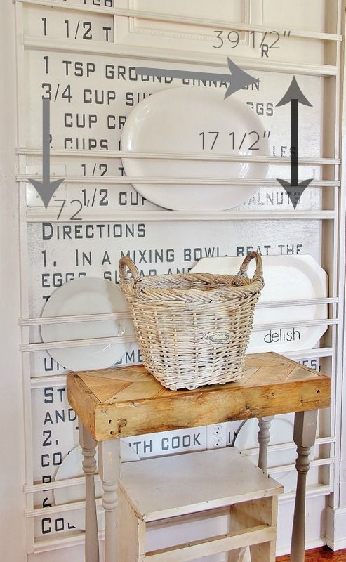 How to Create a Built-In Plate Rack #plateracks