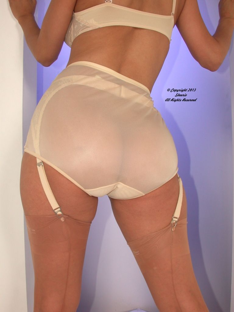 Sheerio vintage panties shame!