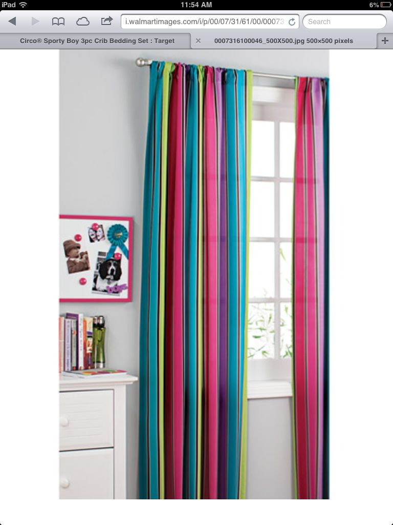 Colourful curtains! | windows | Pinterest | Colorful curtains, Front ...