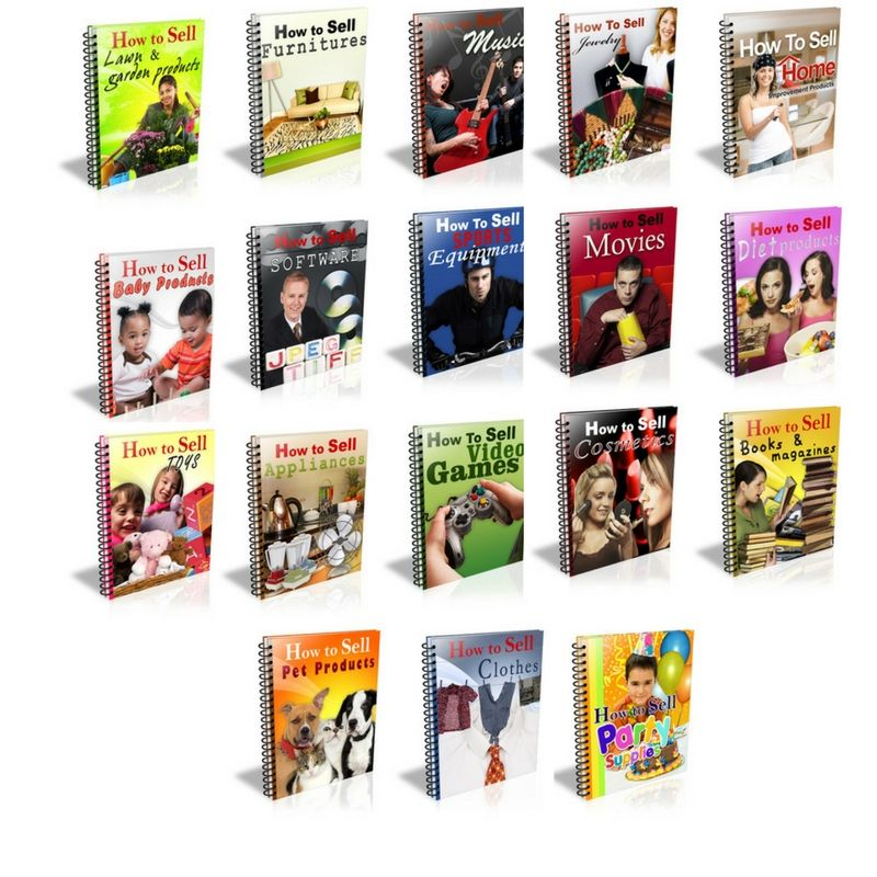 PLR eBook How To Sell. Bundle Things to sell, Blog