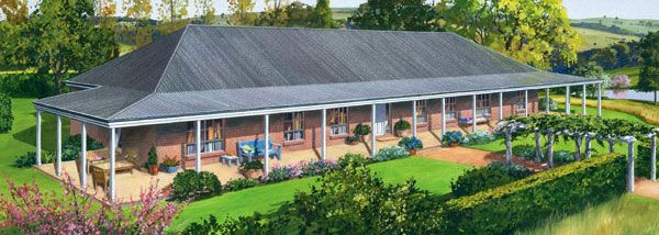 Paal Kit Homes Riverina Steel Frame Kit Home Nsw Qld Vic Australia Kit Homes Steel Frame Home Kits Steel Frame House