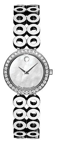 movado women s 605777 ono due diamond accented watch movado movado women s 605777 ono due diamond accented watch movado