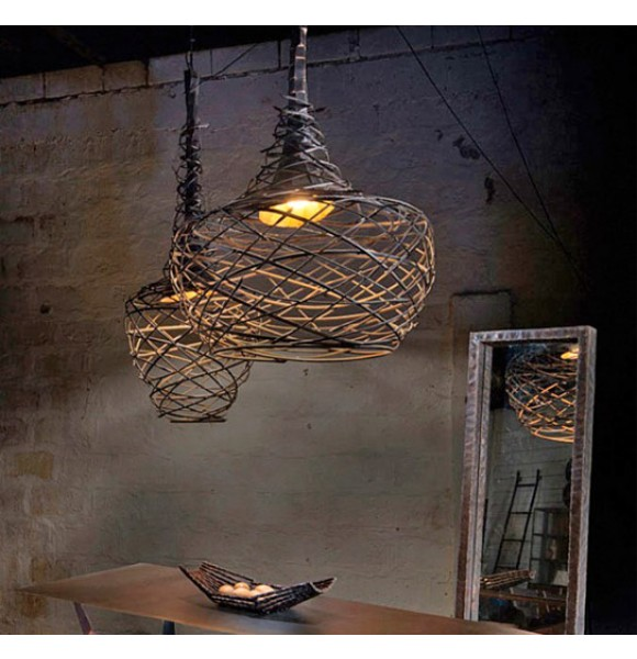Lighting shop contemporary pendant light forged about space