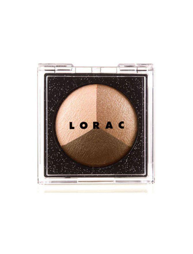 Kim Kardashian's Favorite Beauty Products Ever - Lorac Starry-Eyed Baked Eye Shadow Trio in 'Superstar'