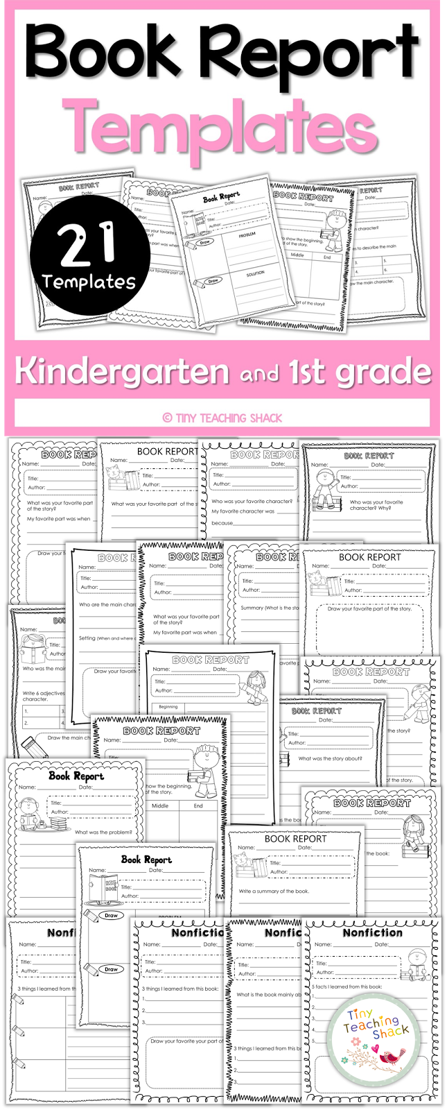book report worksheets for kindergarten These kindergarten books feature adventure  favorite books for kindergartners our best articles, worksheets and more delivered weekly sign up.