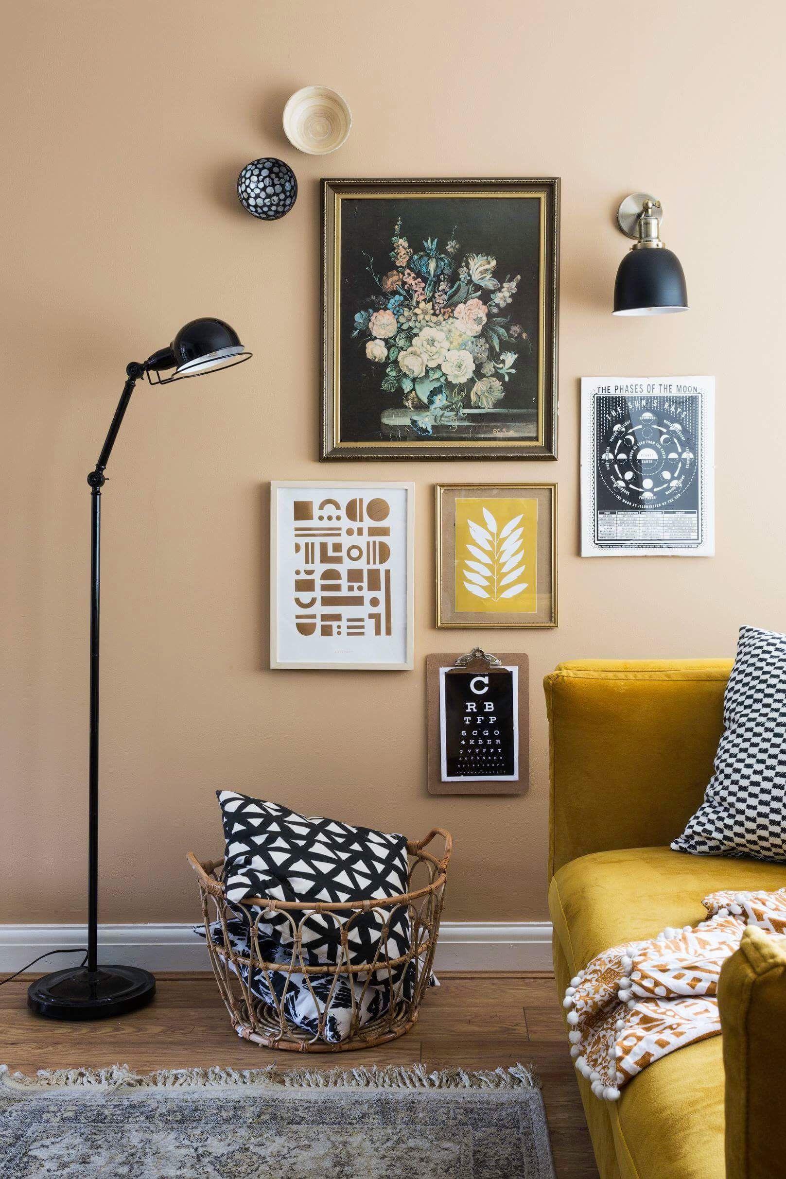 Black industrial urban style floor lamp grillodesigns