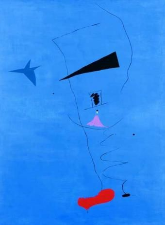 blue star - joan miro