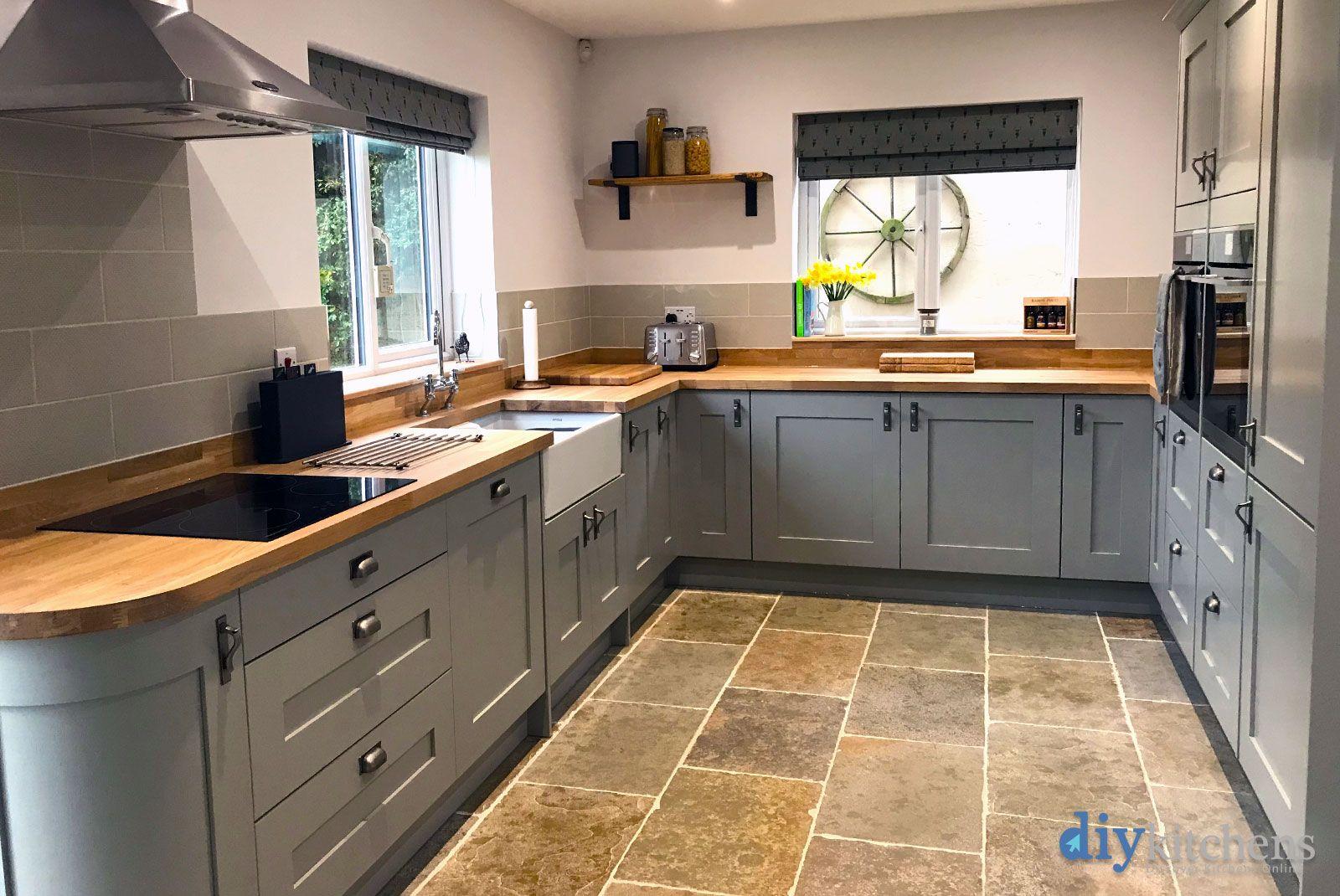 An Innova Norton Lamp Room Grey Shaker Kitchen | ИНТЕРЬЕРЫ ...