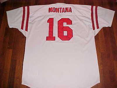 7e2151314 coupon for mitchell ness 1978 1992 s.f. 49ers joe montana 16 throwbacks  white jersey 58 f583f