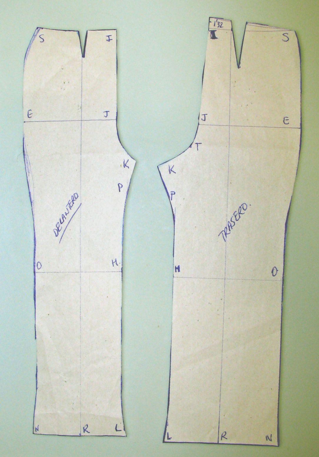 Patrones sobre cómo hacer el patrón, confeccioné el patrón de mi ...