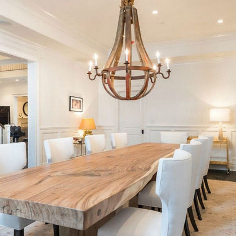 20 Heavenly Wood Dining Table To Charm Your Dining Space Page