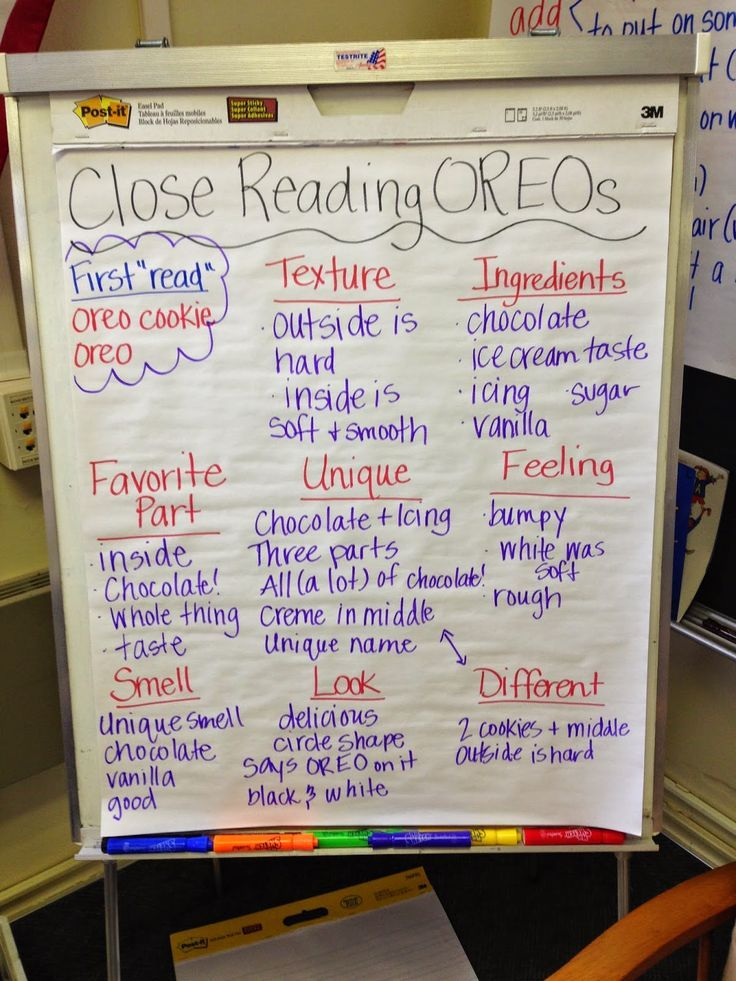 Love this close reading lesson stuckey in second close reading love this close reading lesson stuckey in second close reading with oreos freerunsca Image collections