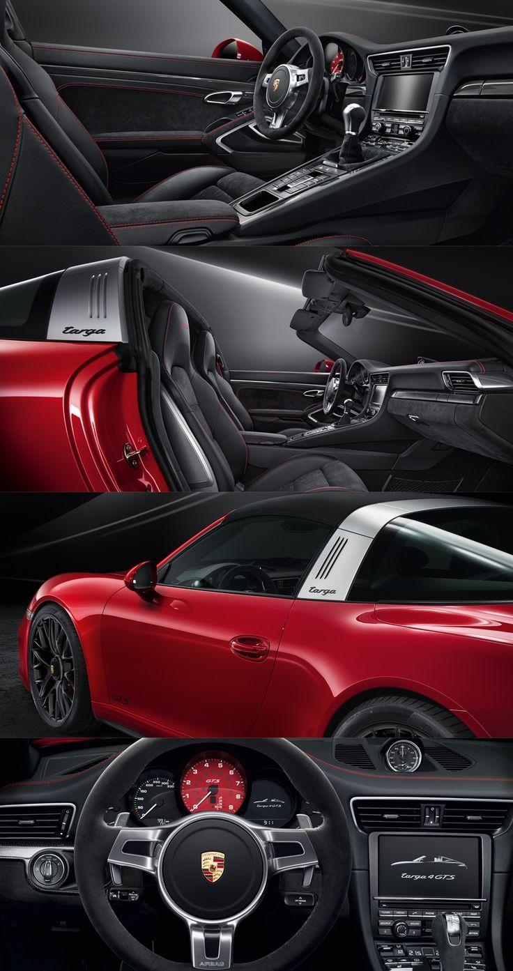 Interior of The New Porsche Targa GTS All that matters