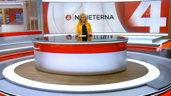 Tv4 Nyheterna Tv Design Tv Set Design Design