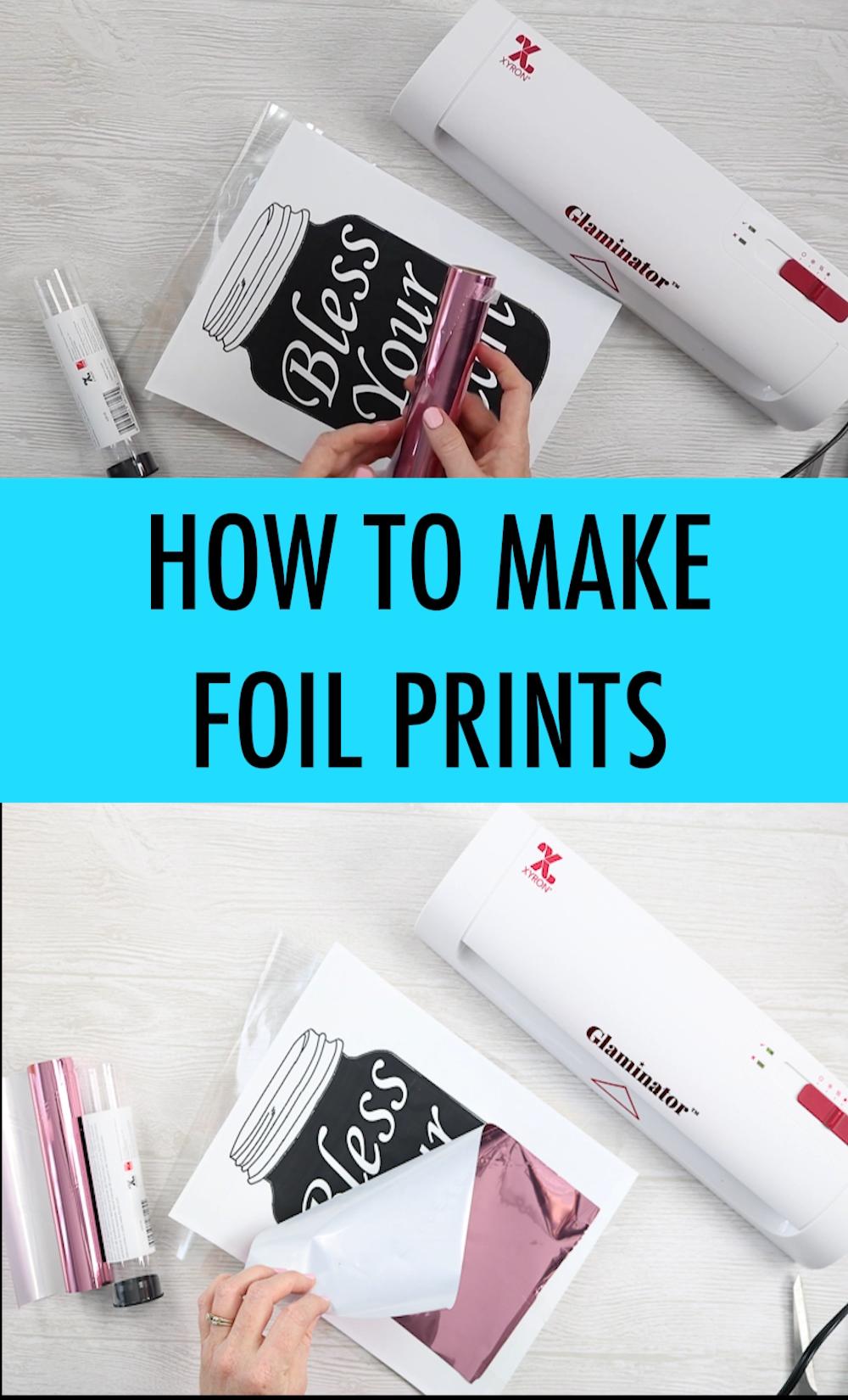 DIY Foil Print