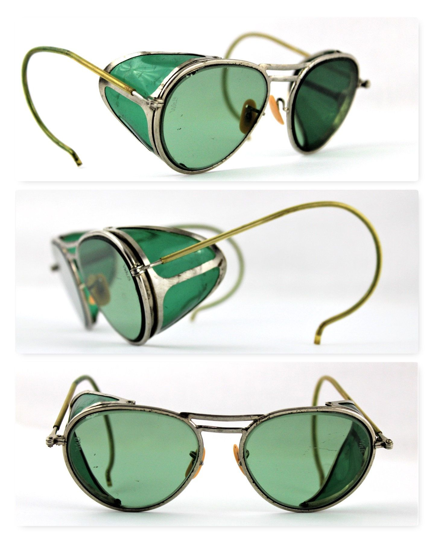 New accessory for doctorssafety glasses Vintage 1940s