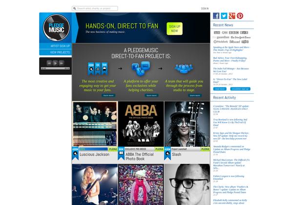 Pledge Music http://www.pledgemusic.com