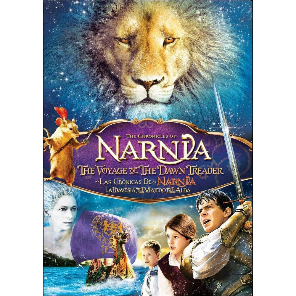 The Chronicles Of Narnia The Voyage Of The Dawn Treader Spanish