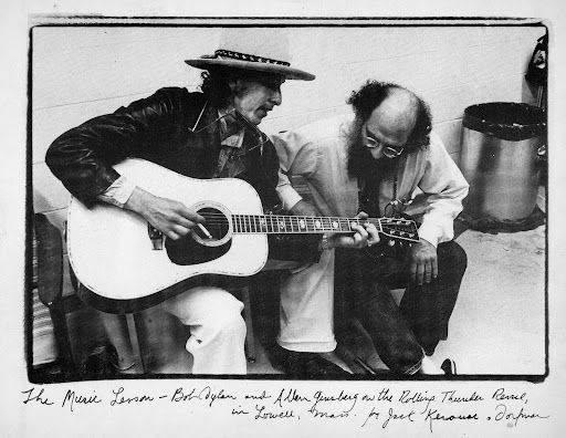 ginsberg and dylan
