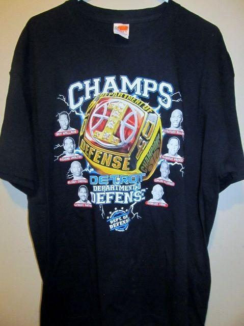 2004 Detroit Pistons Championship Shirt X Large Detroit Pistons Shirts Detroit