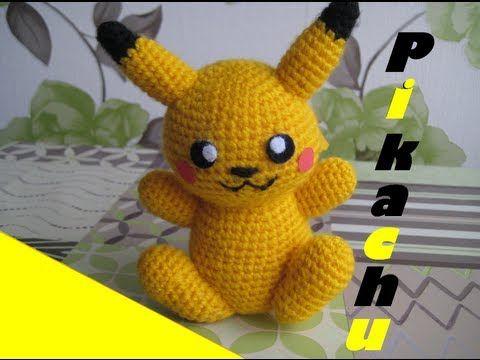 Amigurumi Patterns Pikachu : Amigurumi pikachu! pattern too cute craft ideas pinterest