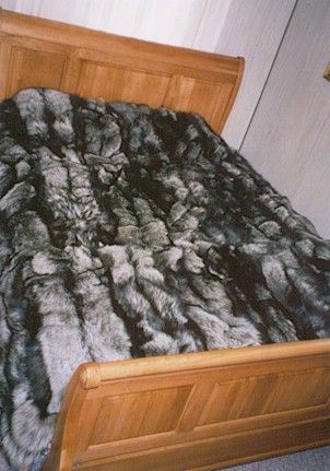 Ranched Silver Fox Blanket
