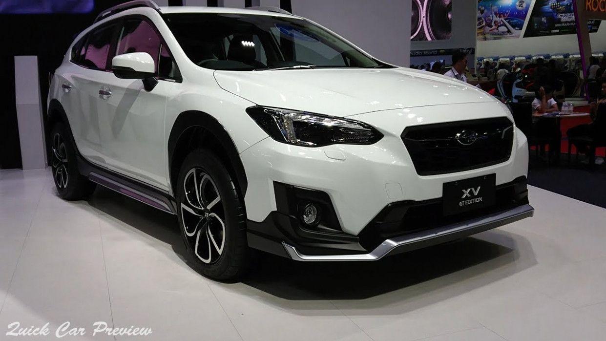 2020 Subaru Xv Gt Redesign