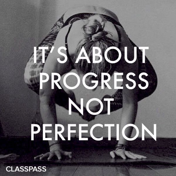 Quotes About Progress Cool Inspirational Quotes Its About Progress Not Perfection  Fitness . Decorating Inspiration