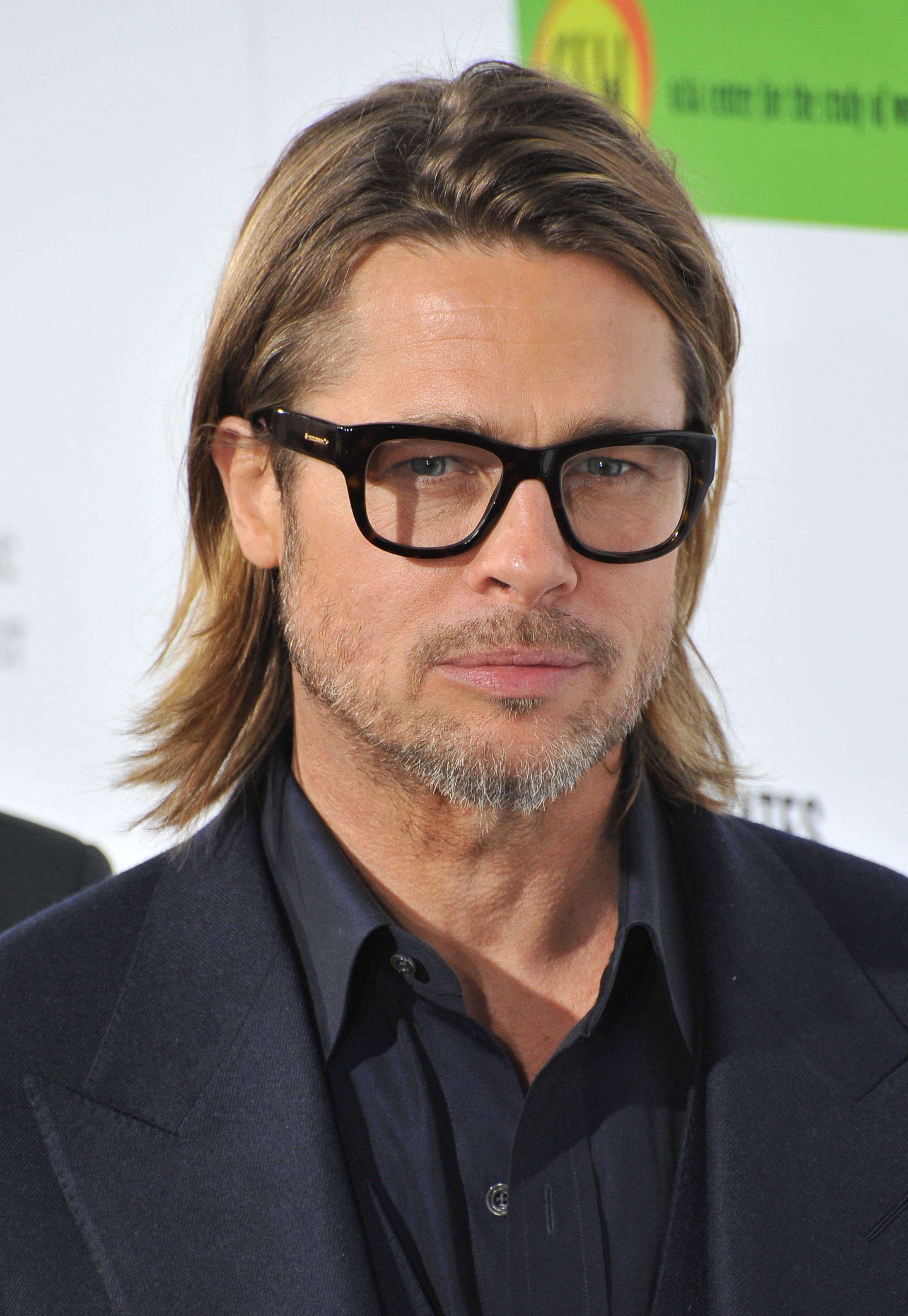 The Ear Tuck Haircut A Suave Style For Modern Day Gentlemen Haircut Inspiration Brad Pitt Long Hair Brad Pitt Hair Gentleman Haircut