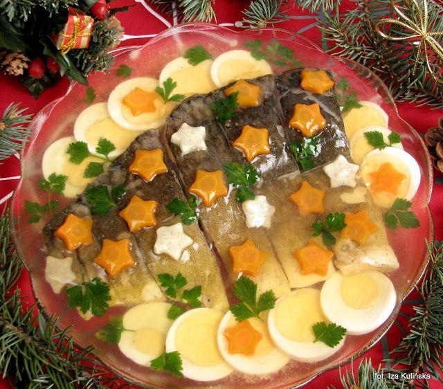 Smaczna Pyza Sprawdzone Przepisy Kulinarne Karp W Galarecie I Jak Sklarowac Galarete Food And Drink Cooking Recipes Christmas Food