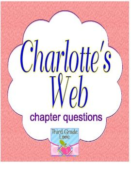 Charlotte's web book report questions