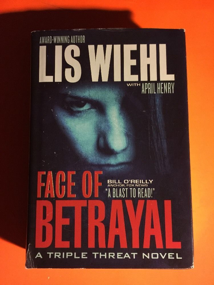 FACE OF BETRAYAL by LIS WIEHL HC/DJ LARGE PRINT FREE SHIPPING