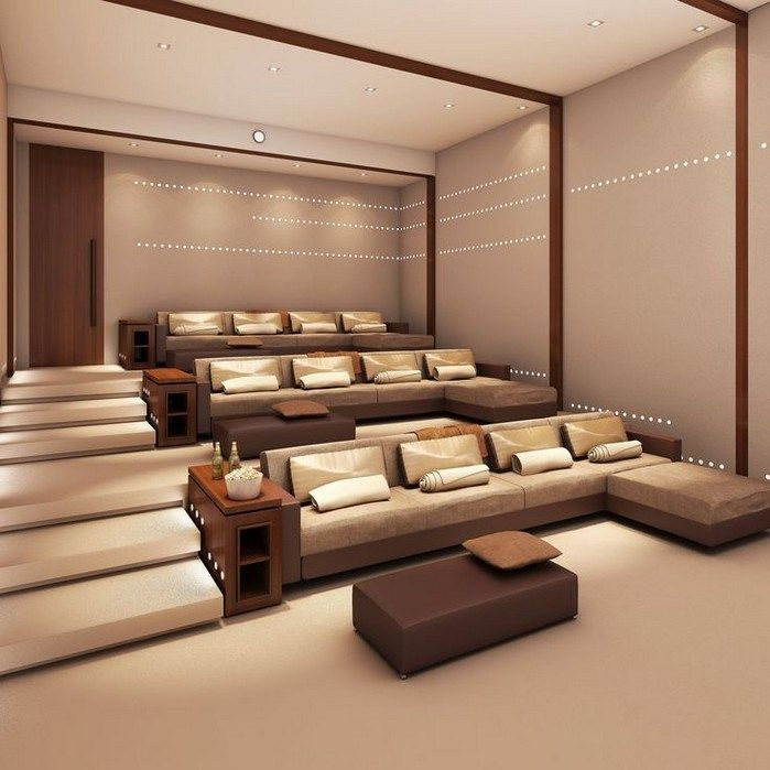 Modern Home Theatre Ideas: 50 Of The Coolest Things For Your House If You Win The
