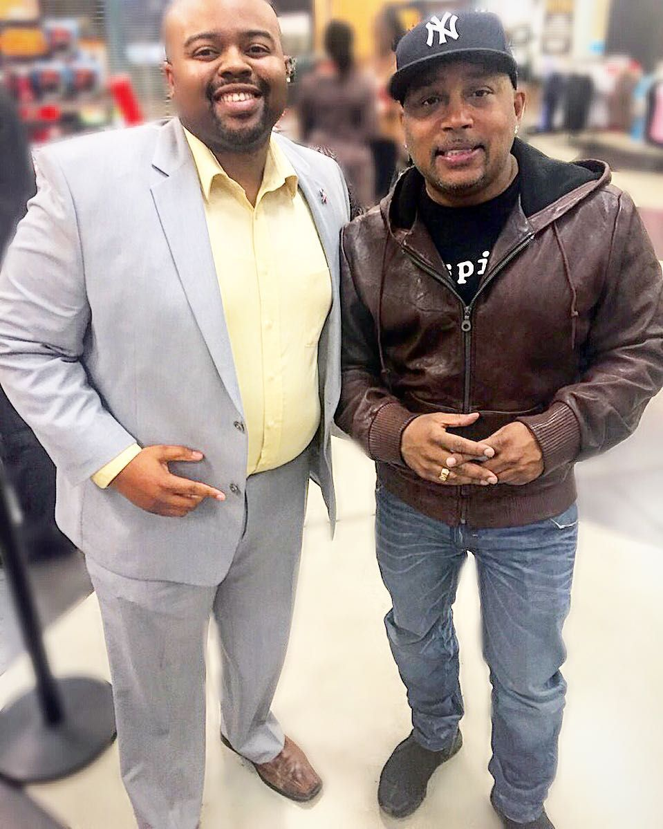 """Met @thesharkdaymond today while he was signing his new book #PowerOfBroke! Real humble guy! I was astonished at how somebody of his """"entrepreneurial status"""" stood talking and signing autographs for 2 hours not behind a table or in a back room but out in the open with the people that came to support him. I was definitely taking notes! by jmontrealc"""