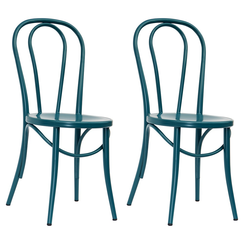 Emery Metal Bistro Chair - | Products | Pinterest | Bistro chairs ...