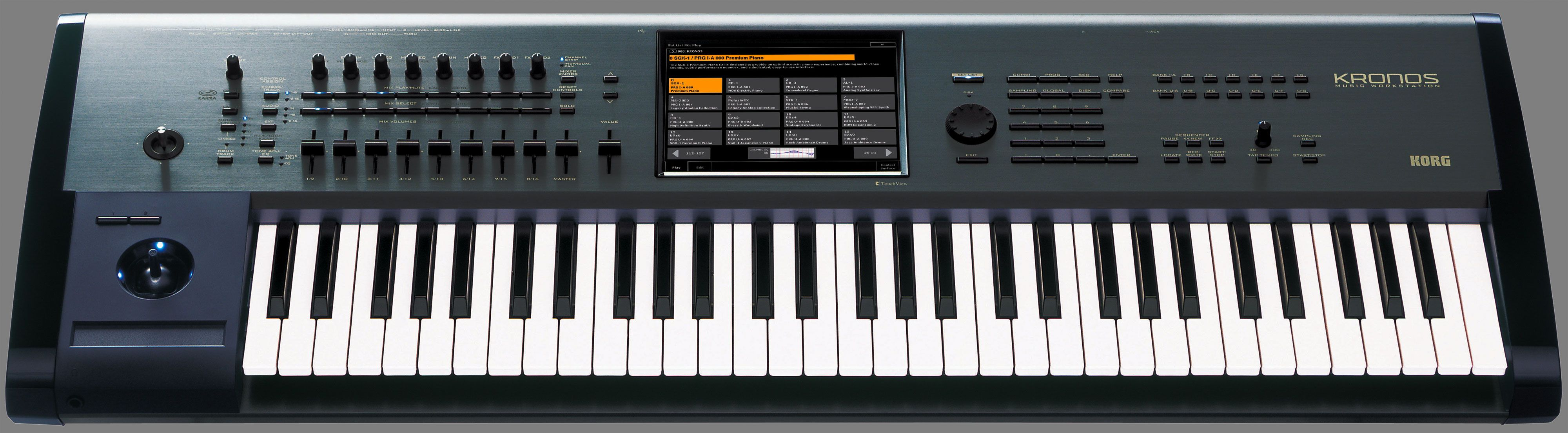 Kronos: the new #KARMA #synth from #Korg! I want one! $3000 | Music