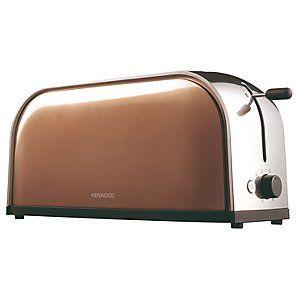 4-slot toaster, bronze color