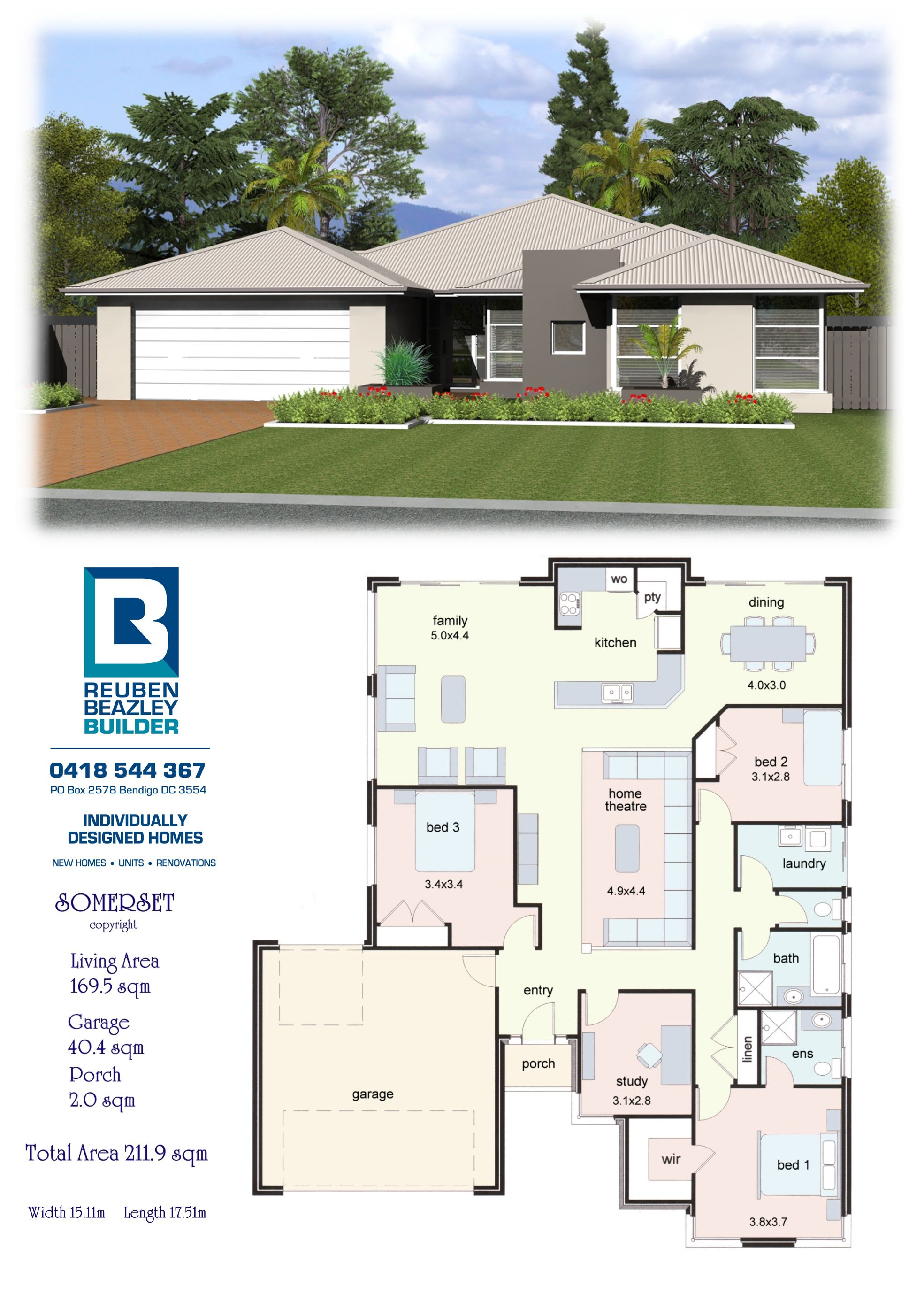 The Somerset House Construction Plan My House Plans House Plan Gallery
