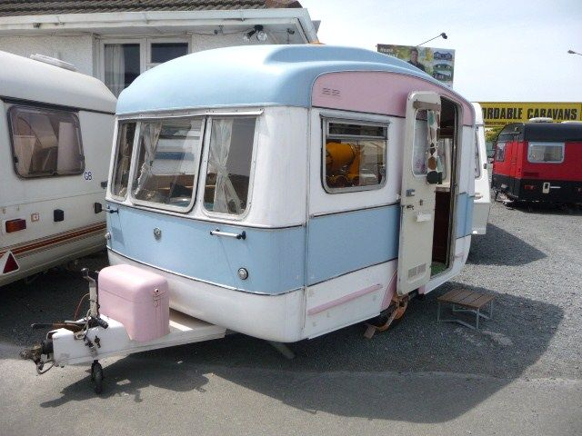 1968 UK Viking Fibreline MK1 11ft | TrailerTrash | Vintage campers