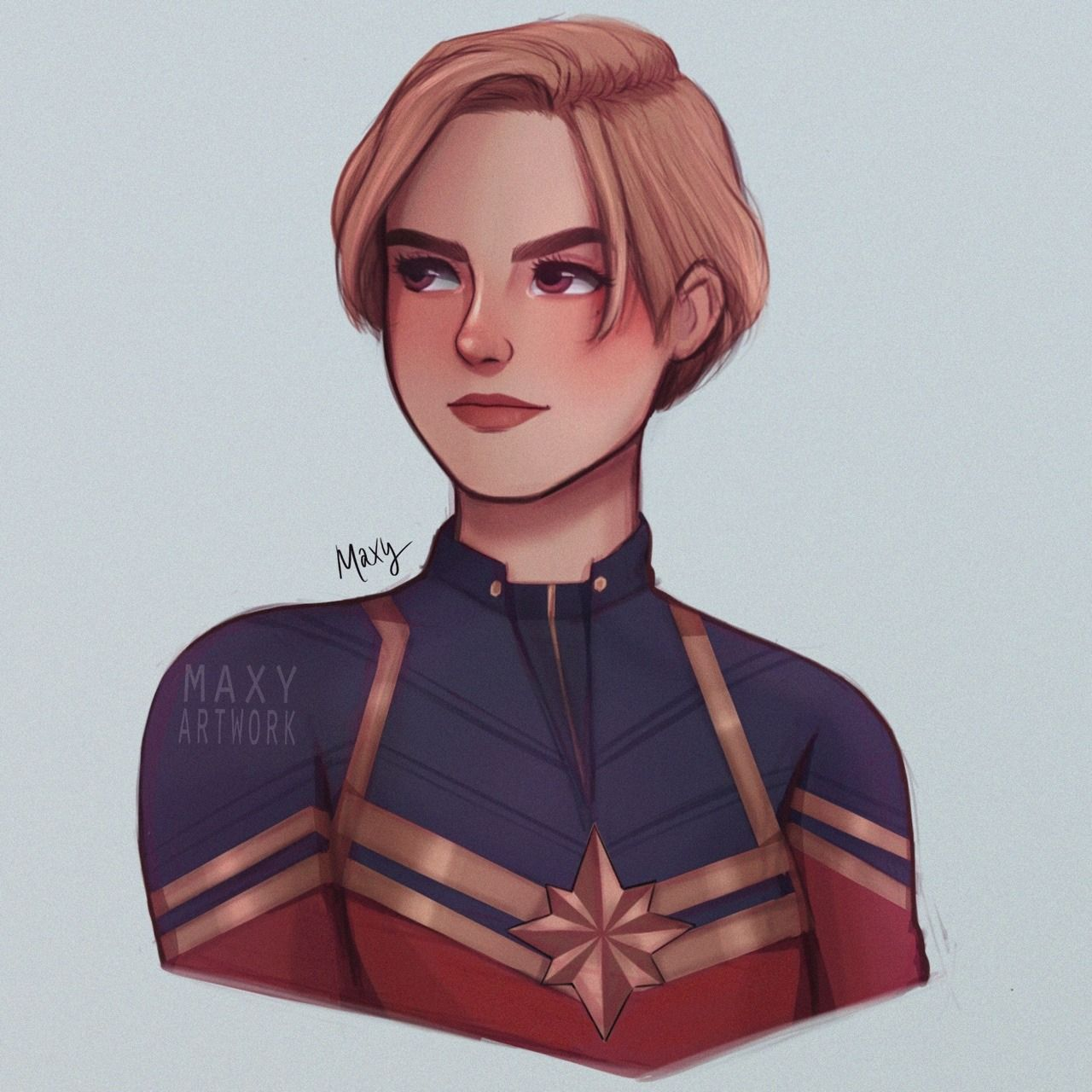 Carol Shows Up On Screen With Short Hair Me Won T Shut Up About It The Rest Of The Movie Captain Marvel Captain Marvel Carol Danvers Marvel Art