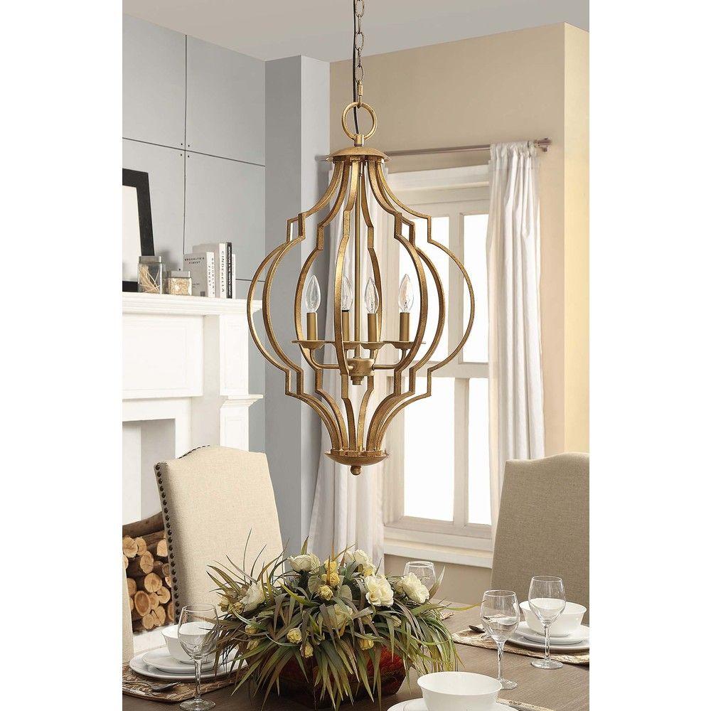 Gold leaf trellis 4 light chandelier overstock shopping great gold leaf trellis 4 light chandelier overstock shopping great deals on chandeliers aloadofball Gallery