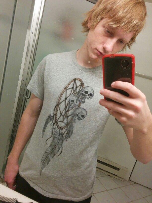 A shirt I made for a friend #dreamcatcher #tshirt