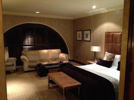 Junior Suite Bedroom At Radisson Blu Edwardian Hampshire Hotel Leicester Square London