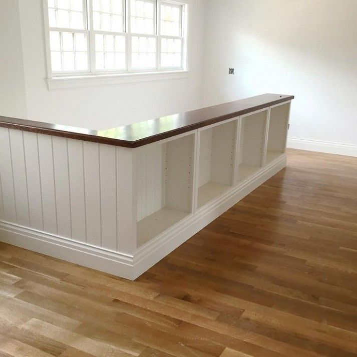 Top 70 Best Painted Stairs Ideas: Bookcase Stair Rail Banister-17 Best Ideas About Bookcase