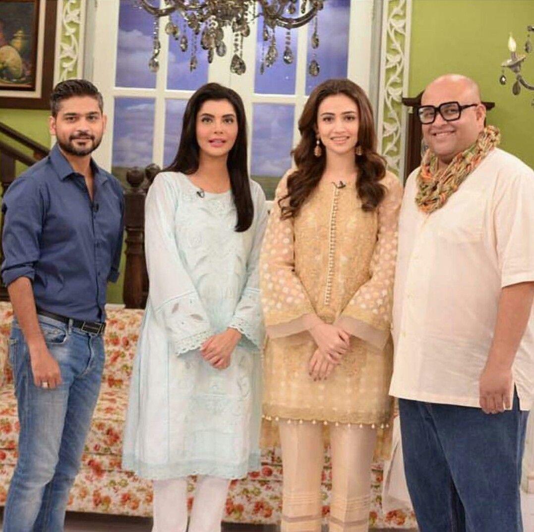 Designer Zaheer Abbas Sana Javed Nida Yasir And Makeup