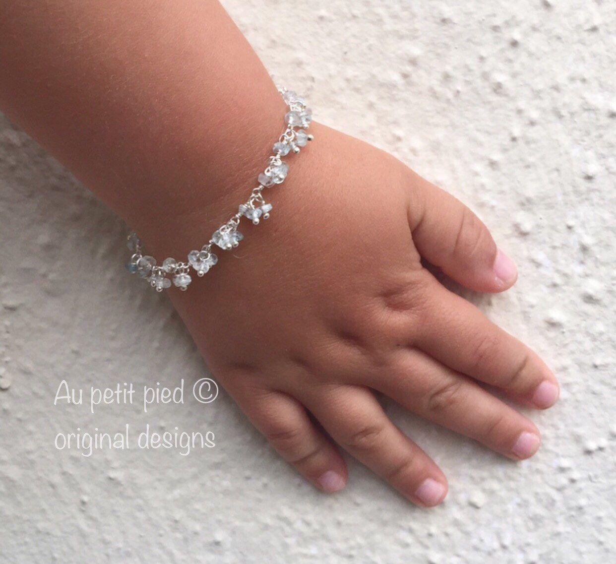 Gift for sister Nature Bracelet Gift Ideas Cubic Zirconia Sterling Silver Bracelet Dainty Silver Butterfly Bracelet Gift for mum