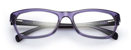 ray ban rx5298 rb5298 violet optical